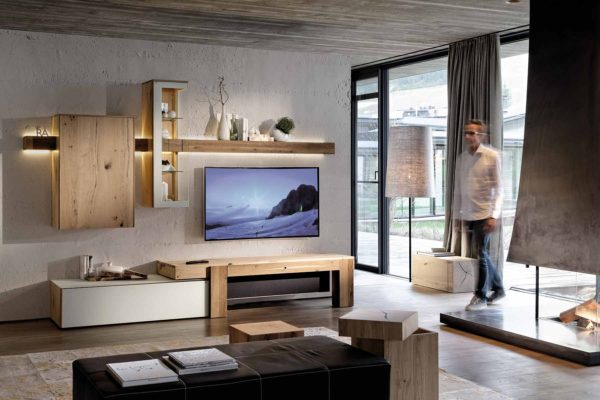 02: Bieten eine einzigartige Wohnstimmung durch das Kombinieren von verschiedenen Materialien.