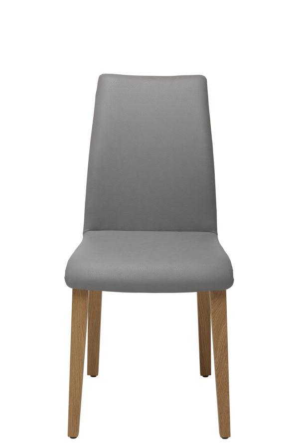 11: 4-Bein-Stuhl mit leichter Wippfunktion wie bei einem Freischwinger