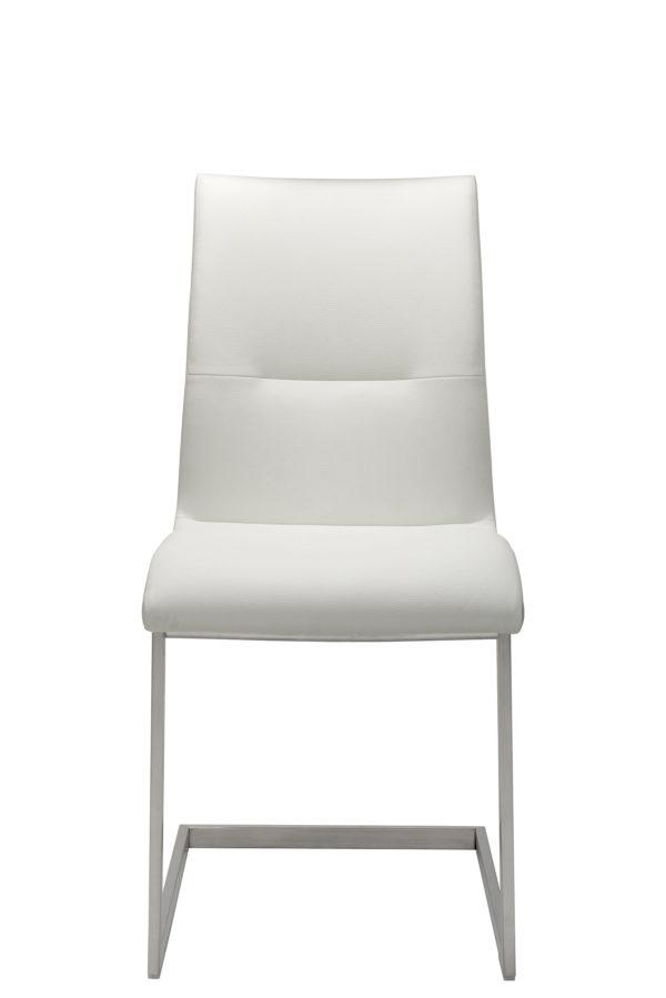 05: Freischwinger-Stuhl mit extra hoher Sitzhöhe