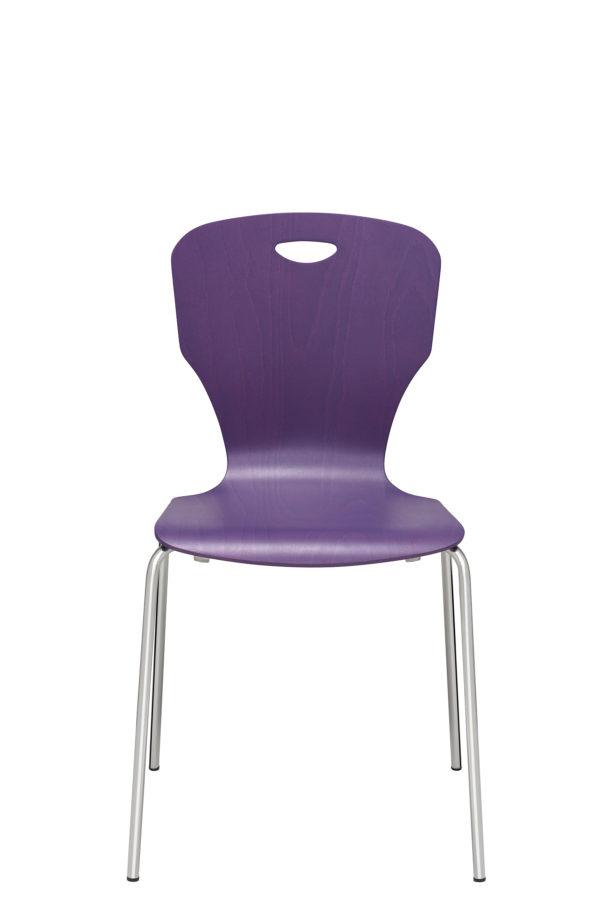 17: Leichter Stuhl mit Holzschale