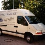 Möbel Kindler AG - Lieferwagen aus dem Jahre 1999