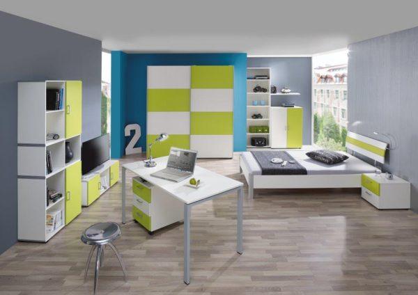 06: Jugendzimmer mit flippigen Farben