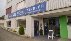 Möbel Kindler AG - Standort Schinznach Eingang