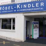 Möbel Kindler AG - Neuer Eingang mit Schiebetüre